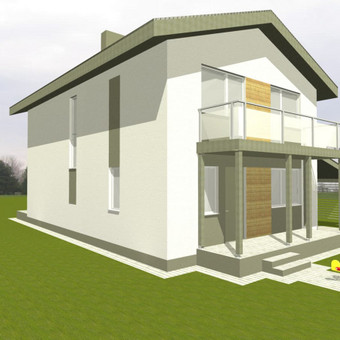 Architektūriniai projektai / Vytautas Marcinkevičius / Darbų pavyzdys ID 371957