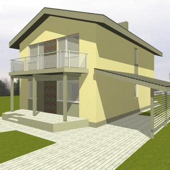 Architektūriniai projektai / Vytautas Marcinkevičius / Darbų pavyzdys ID 371959