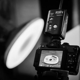 Procecas II. Fotografuojama šviesiadėžėje, studijoje. Maisto fotografavimas.