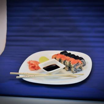 Procecas. Fotografuojama šviesiadėžėje, studijoje. Maisto fotografavimas.