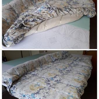 Užvalkalas sofai.