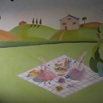 Sienų dekoravimas / Aušra Bugvilionė / Darbų pavyzdys ID 372513