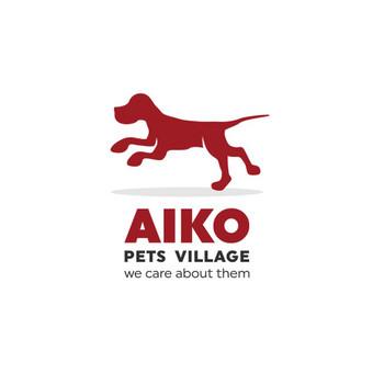 Aiko pets village / Aiko gyvūnų kaimelis - gyvūnų globos namai. Logotipas labdaros tikslais siekiant prisidėti prie beglobių gyvūnų gelbėjimo.        Logotipų kūrimas - www.glogo.eu - logo ...