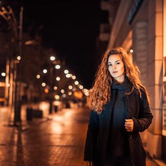 Naktinis miesto portretas