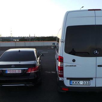 Keleivinių baltų Mercedes Sprinter mikroautobusų nuoma / Algimantas / Darbų pavyzdys ID 374057