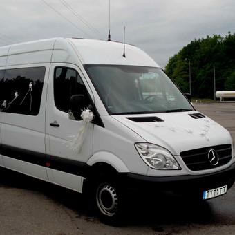 Keleivinių baltų Mercedes Sprinter mikroautobusų nuoma / Algimantas / Darbų pavyzdys ID 374067