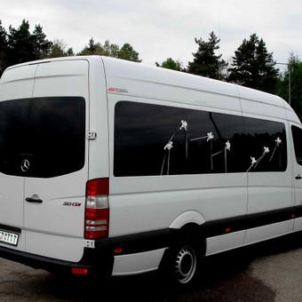 Keleivinių baltų Mercedes Sprinter mikroautobusų nuoma / Algimantas / Darbų pavyzdys ID 374071