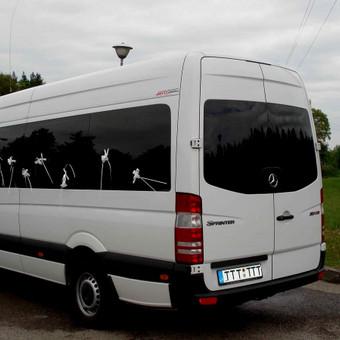Keleivinių baltų Mercedes Sprinter mikroautobusų nuoma / Algimantas / Darbų pavyzdys ID 374073