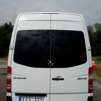Keleivinių baltų Mercedes Sprinter mikroautobusų nuoma / Algimantas / Darbų pavyzdys ID 374075