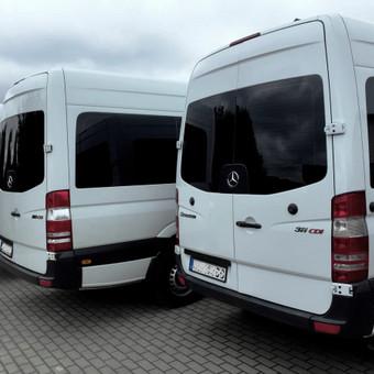 Keleivinių baltų Mercedes Sprinter mikroautobusų nuoma / Algimantas / Darbų pavyzdys ID 374085