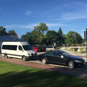 Keleivinių baltų Mercedes Sprinter mikroautobusų nuoma / Algimantas / Darbų pavyzdys ID 374101