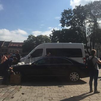 Keleivinių baltų Mercedes Sprinter mikroautobusų nuoma / Algimantas / Darbų pavyzdys ID 374105