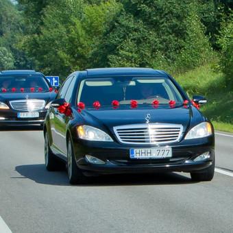 Mercedes limuzinų, mikroautobusų Nuoma vestuvėms, kelionėms. / NUOMAJUMS.LT / Darbų pavyzdys ID 374137