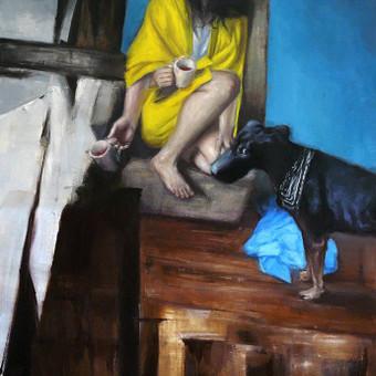 Profesionali portretų tapyba / Justinas Krasuckas / Darbų pavyzdys ID 374381