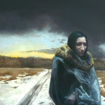 Profesionali portretų tapyba / Justinas Krasuckas / Darbų pavyzdys ID 374383