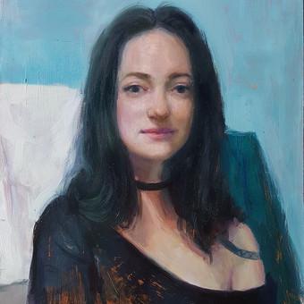 Profesionali portretų tapyba / Justinas Krasuckas / Darbų pavyzdys ID 374393