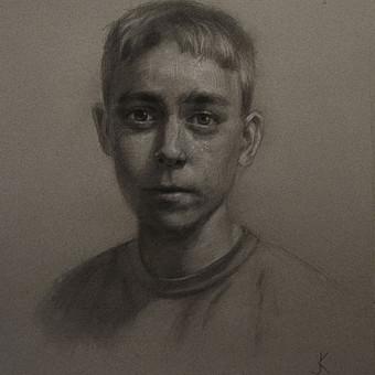 Profesionali portretų tapyba / Justinas Krasuckas / Darbų pavyzdys ID 374395