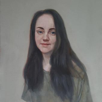 Profesionali portretų tapyba / Justinas Krasuckas / Darbų pavyzdys ID 374399