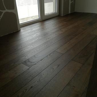 Medinių grindų įrengimas / Arnas / Darbų pavyzdys ID 374463