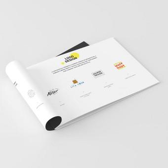 Logotipų, pakuotės ir firminio stiliaus kūrimas / Deividas / Darbų pavyzdys ID 375347