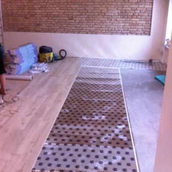 Darbai su medinėmis grindimis: klojimas, šlifavimas... / Rolandas / Darbų pavyzdys ID 376009