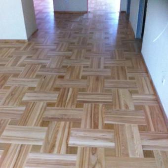 Darbai su medinėmis grindimis: klojimas, šlifavimas... / Rolandas / Darbų pavyzdys ID 376005