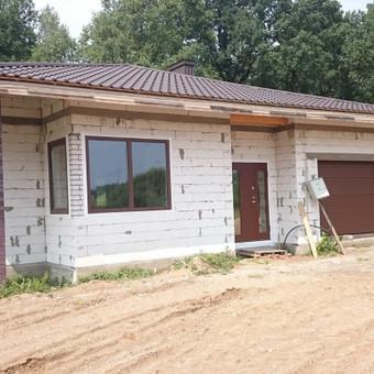 """Plastiko, Aliuminio, Medžio profilio langai,durys,pertvaros / UAB """"JUSTIGNA"""" / Darbų pavyzdys ID 376449"""