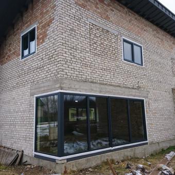 """Plastiko, Aliuminio, Medžio profilio langai,durys,pertvaros / UAB """"JUSTIGNA"""" / Darbų pavyzdys ID 376463"""