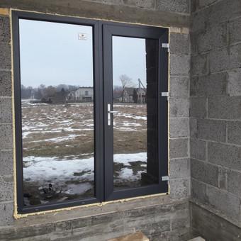 """Plastiko, Aliuminio, Medžio profilio langai,durys,pertvaros / UAB """"JUSTIGNA"""" / Darbų pavyzdys ID 376495"""