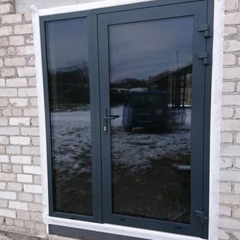 """Plastiko, Aliuminio, Medžio profilio langai,durys,pertvaros / UAB """"JUSTIGNA"""" / Darbų pavyzdys ID 376501"""
