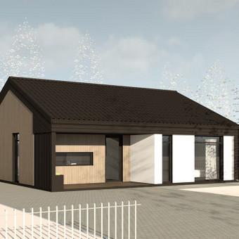 ARK PRO - architektūros ir interjero dizaino studija / Profesionali architektūra / Darbų pavyzdys ID 377301