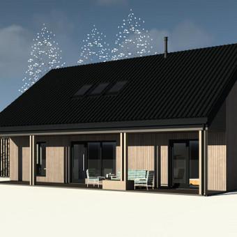 ARK PRO - architektūros ir interjero dizaino studija / Profesionali architektūra / Darbų pavyzdys ID 377321
