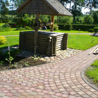 Klausk namų aplinkos dizainerės! / Žalias suoliukas / Darbų pavyzdys ID 378717