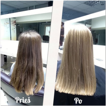 Plaukų stiliste / Veronika / Darbų pavyzdys ID 379805
