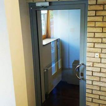 Berėmė stiklo konstrukcijos-Aliumininės stiklo konstrukcijos / Andžej / Stiklistas / Darbų pavyzdys ID 379937