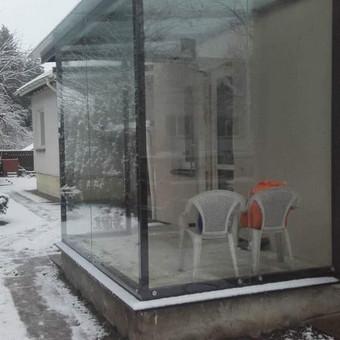 Berėmė stiklo konstrukcijos-Aliumininės stiklo konstrukcijos / Andžej / Stiklistas / Darbų pavyzdys ID 379959
