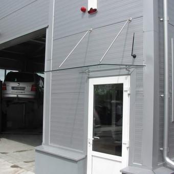 Berėmė stiklo konstrukcijos-Aliumininės stiklo konstrukcijos / Andžej / Stiklistas / Darbų pavyzdys ID 380011