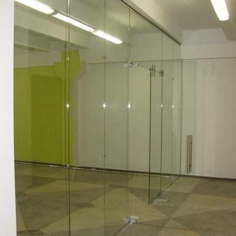 Berėmė stiklo konstrukcijos-Aliumininės stiklo konstrukcijos / Andžej / Stiklistas / Darbų pavyzdys ID 380013