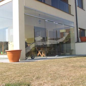Berėmė stiklo konstrukcijos-Aliumininės stiklo konstrukcijos / Andžej / Stiklistas / Darbų pavyzdys ID 380017