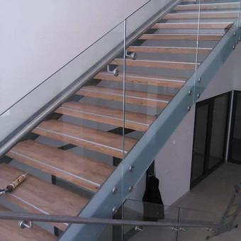 Berėmė stiklo konstrukcijos-Aliumininės stiklo konstrukcijos / Andžej / Stiklistas / Darbų pavyzdys ID 380043