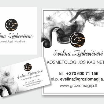 Grafikos dizainerė - logotipų kūrimas, skrajutės, vizitinės / Agnietė Suknelevičienė / Darbų pavyzdys ID 380273