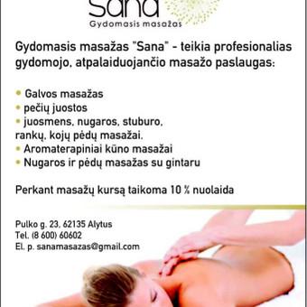 """Vakuuminis-anticeliulitinis masažas Starvac Sp2 aparatu / Gydomasis masažas """"Sana"""" / Darbų pavyzdys ID 380275"""