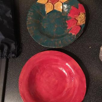 Keramika/Ebru/Patyriminiai užsiėmimai/stovyklos / Elena / Darbų pavyzdys ID 380865