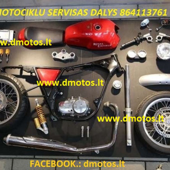Motociklu remontas panevezyje / dmotos / Darbų pavyzdys ID 381405