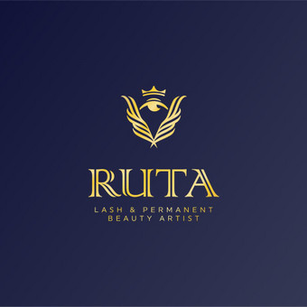 Ruta - lash & permanent beauty artist   |   Logotipų kūrimas - www.glogo.eu - logo creation.