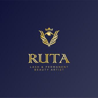 Ruta - lash & permanent beauty artist       Logotipų kūrimas - www.glogo.eu - logo creation.