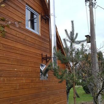 Pristatomi kaminai, Kaminų įdėklai, Montavimas. / Deividas Jasevičius / Darbų pavyzdys ID 382167