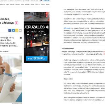 Komunikacijos specialistė. www.gizaite.lt / Jurgita Gižaitė / Darbų pavyzdys ID 382651