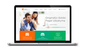 Profesionalus Dizainas / Logotipai / UI/UX / HTML5 Banneriai
