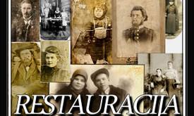Nuotraukų  restauracija.